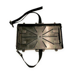 Marine / Boat / Rv Battery Tray - Group 24 Series With Strap, Battery Holder