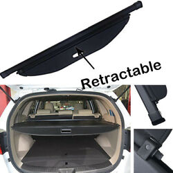 For Kia Sorento 2016-2019 Retractable Cargo Cover Rear Trunk Privacy Shade Black
