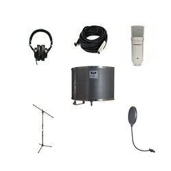 CAD Audio Full Recording Package With Mixdown XL Condenser Mic $