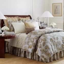 New 13pc Chaps Cold Spring Queen Comforter Sheets Shams Quilt Set