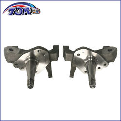 Forged Steel 1-piece 2 Drop Spindles Pair For 74-78 Ford Mustang Ii Pinto V6 V8