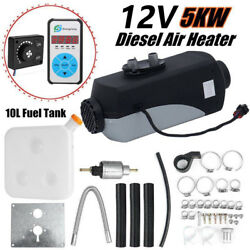 12V 5000W Auto Heater Diesel Parking Fuel Air Conditioner for Car Bus Truck
