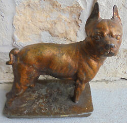 20.4 lb American Staffordshire Terrier  American Pit Bull Terrier metal statue