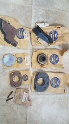 Rambler Nos Parts Lot 1950and039s 1960and039s Gear Gaskets Plates Brackets Studs