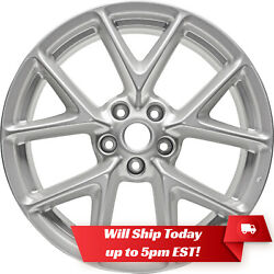 New 19 Replacement Alloy Wheel Rim For 2009 2010 2011 Nissan Maxima - Silver
