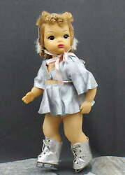 Wonderful Early And039terri Leeand039 Doll In Ice Skating Outfit