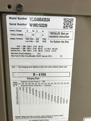 YORK 4 Ton 13 Seer Commercial AC Condensing Unit YCJD48S43S3A