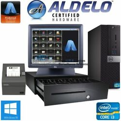Aldelo Pro Bar Grill Cafe Dell Complete Pos System Support I3 4gb Ram - Support