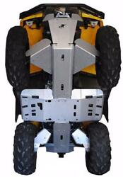 Ricochet Off-road 8 Pc Complete Skid Plate Set 2013-19 Can-am Outlander 500 Max