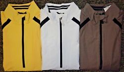 New Mens Cutter And Buck Weathertec S/s 1/4 Zip Golf Jacket Pick Size And Color