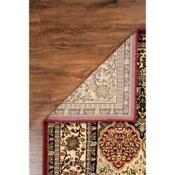 Linon Mckinley Kerman Power Loomed Polypropylene 9and039 X 12and039 Rug In Red