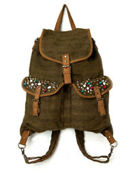 Free People Bag LARGE Hobo Backpack Convertible Crossbody Tote VEGAN *EXCELLENT*