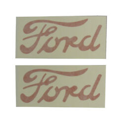 8n4752h Hood Decal Set For Ford 8n Tractor Years 1947-1952