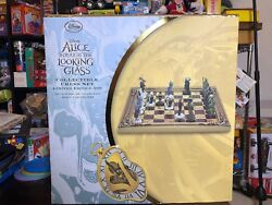 Alice Through The Lookong Glass Collectible Chess Set Limited Edition 500