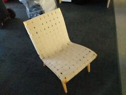 4 Jens Risom Art Deco Chairs By Knoll Design.