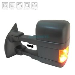 NEW LEFT POWER DOOR MIRROR HEATED FITS 2008-2009 FORD F-250 SUPER DUTY FO1320425