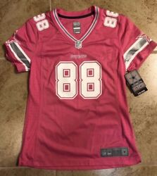 Pink Dez Bryant Dallas Cowboys Women's Jersey - Small
