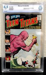 Brave And The Bold 60 1st Wonder Girl Teen Titans Cbcs 8.5 White Pages