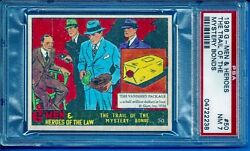 1936 R60 G - Men And Heroes 50 The Trail Of The Mystery Bonds Psa 7 Pop 1