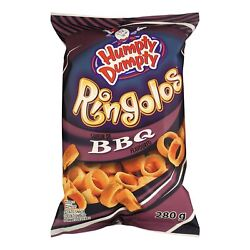 Old Dutch Humpty Dumpty BBQ Ringolos Potato Snack Rings 4 x 280g bags Canada