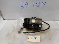 2004 FORD ESCAPE XLT AC COMPRESSOR W ELECTRICAL CONNECTOR MOUNTING BOLTS