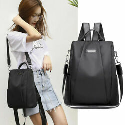 Women Anti theft Oxford School Backpack Travel Waterproof Satchel Shoulder Bag $12.21