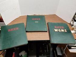 Gates Radio . M5944 Cartridge Tape Instruction Install And Operation- Each One