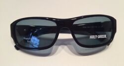 Harley Davidson Sunglasses HDX801 BLACK 3 55 17 135 NEW WITH GREY 3 SUN LENSES $67.00