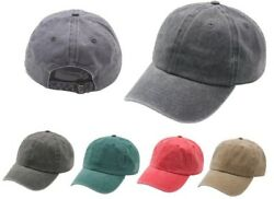 New Best Low Profile Dad Hat Pigment Dyed Washed Wholesale Vintage Cap Baseball