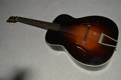 Vintage C. 1937 Unlabeled Gibson Neck Regal Body Archtop Acoustic Guitar