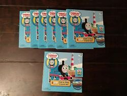 Bulk Lot 45 Thomas And Friends Fold And Play Travel Set Colorforms Stick-on Vinyls