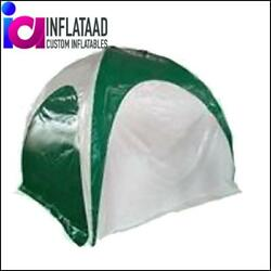 12ft Inflatable Green And White Tent