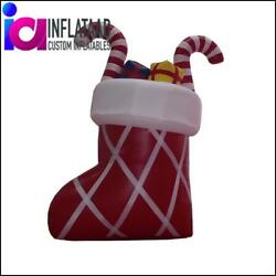 Inflatable Xmas Sock With Gifts