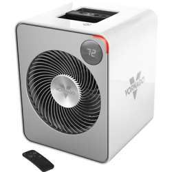 Vornado VMH500 Whole Room Metal Heater with Auto Climate-Champagne / Ice