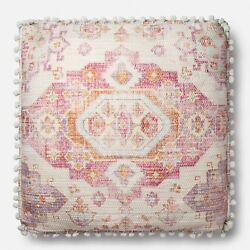 Joanna And Chip Gaines Andldquofixer Upper Pillow Magnolia Farms 26x26 Pinks Whites New