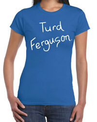 458 Turd Ferguson Womens T-shirt Funny Skit Game Show Costume College Party New