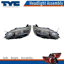 TYC Headlight Headlamps Assembly Left & Right 2PCS For Toyota Camry 2016-2017