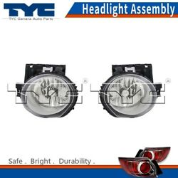 TYC Headlight Headlamps Assembly Left & Right 2PCS For Juke 2011-2014