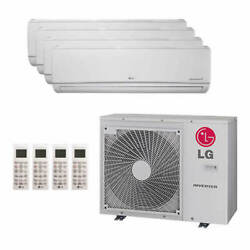 Lg Wall Mounted 4-zone Lgred Degrees Heat System - 30000 Btu Outdoor - 7k +...