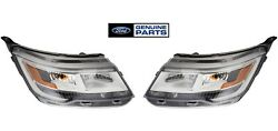 2 Oem Ford 2016 17 18 2019 Explorer Front Right And Left Level 7 Headlight Lamps