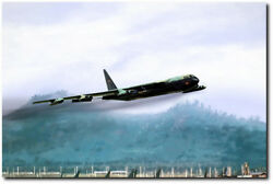 Game Time By Peter Chilelli - B-52 Bombers - Aviation Art Print