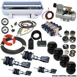 1967-1969 Chevrolet Camaro Special 4-Link Plug and Play Air Ride Kit
