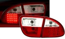 Clear Tail Lights For Seat Leon 1m 4/1999-10/2005 Model Nice Gift Leo410654
