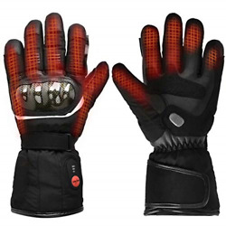 Warmer Upgraded Heated Motorcycle Gloves7.4V 2200MAH Electric Rechargeable Men