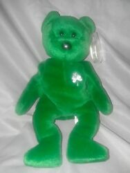 1997 Rare Retired Erin The Beanie Baby Tag protectors