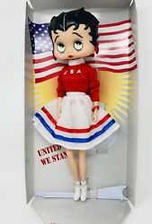 Betty Boop United We Stand Usa Patriotic Edition Collectible Doll