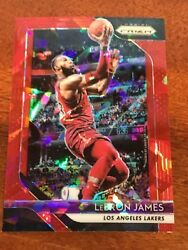 2018-19 Prizm You Pick Veterans Red Cracked Ice Prizm Lebron Curry Durant 1-300