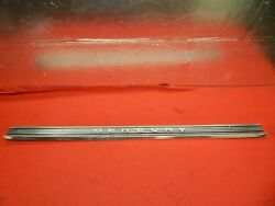 Used 50's 60's Mercury Rear Luggage Compartment Finish Panel