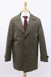 NWT$4795 Brunello Cucinelli Mens Trench Coat WDetachable Puffer Lining SzM A191