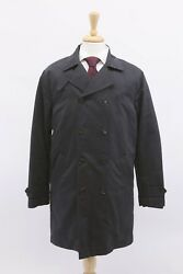 NWT$4995 Brunello Cucinelli Men DB Trench Coat WDetachable Puffer Lining M A191